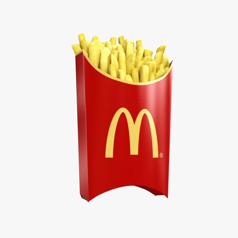 Animated french fries - photo#34