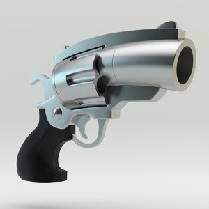3ds cartoon revolver