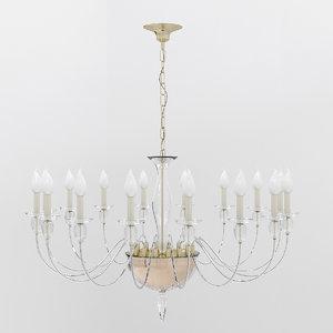 3ds chandelier murano