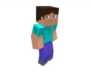 free c4d model my minecraft