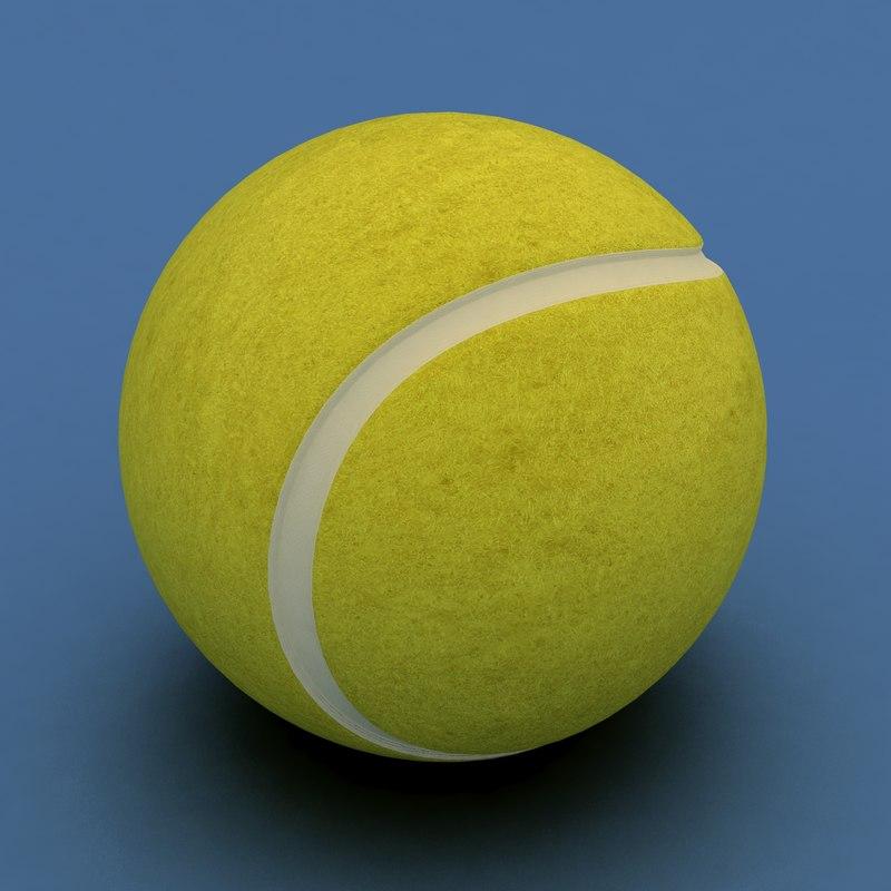 obj tennis ball