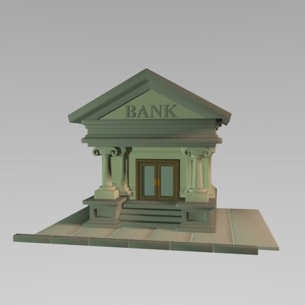 3d toon bank