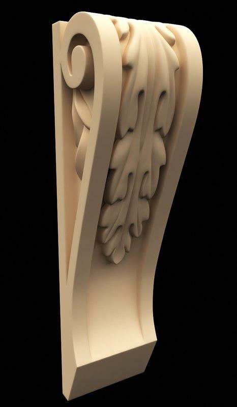 3d corbel model