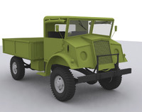 canadian cmp truck army 3d max