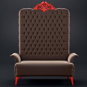3d creazioni cr 3812-ic sofa model