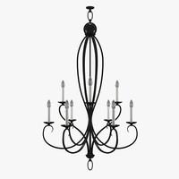 3ds modern chandelier