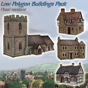 buildings house 3d model