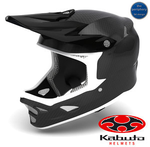 fiber carbon helmet - 3d dwg