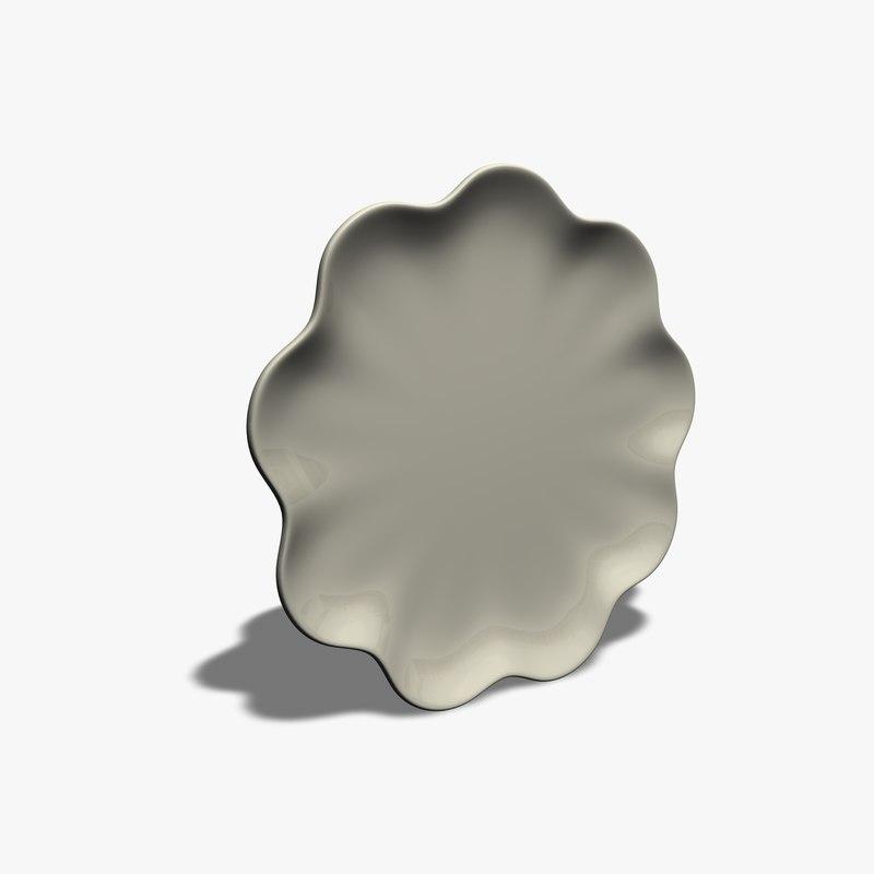 flower plate 3ds