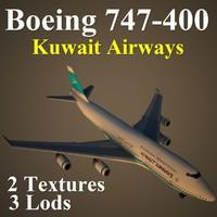 max boeing 747-400 kac