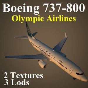 x boeing 737-800 oal