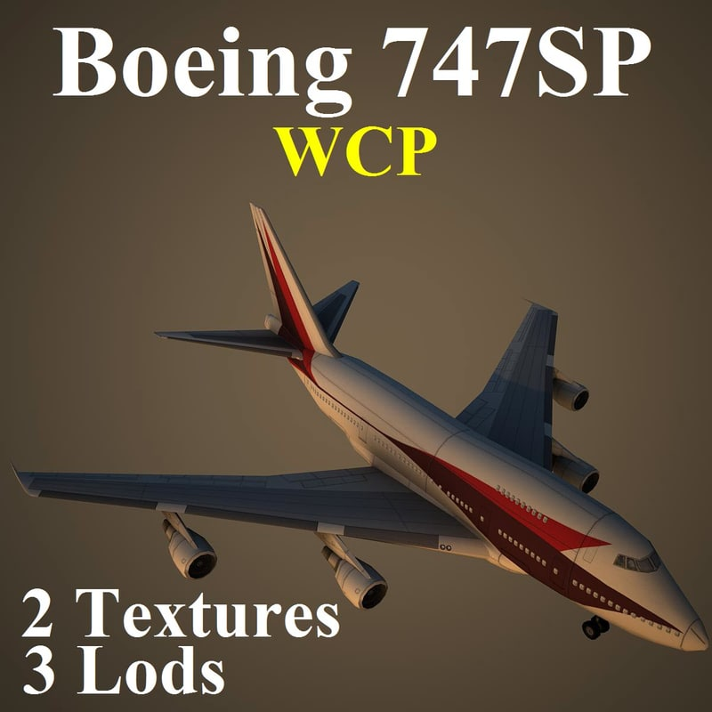 boeing wcp 3d max