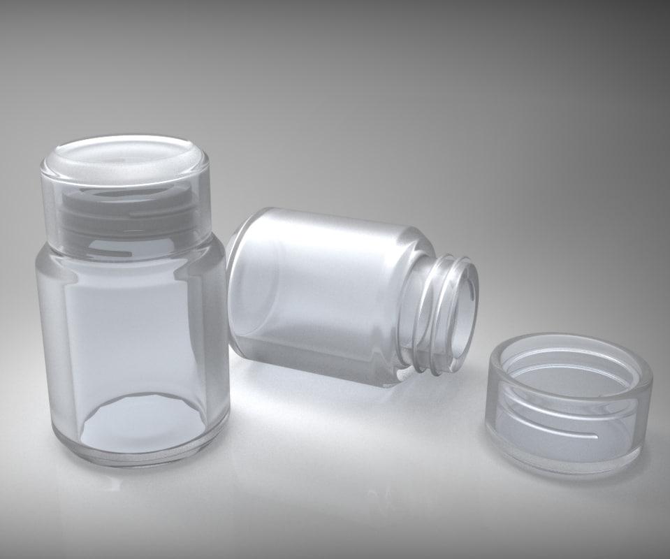 printable bottle screw 3d 3ds