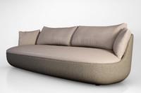 moooi bart sofa 3d model