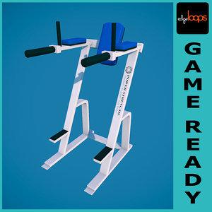 obj hammer strength leg raise
