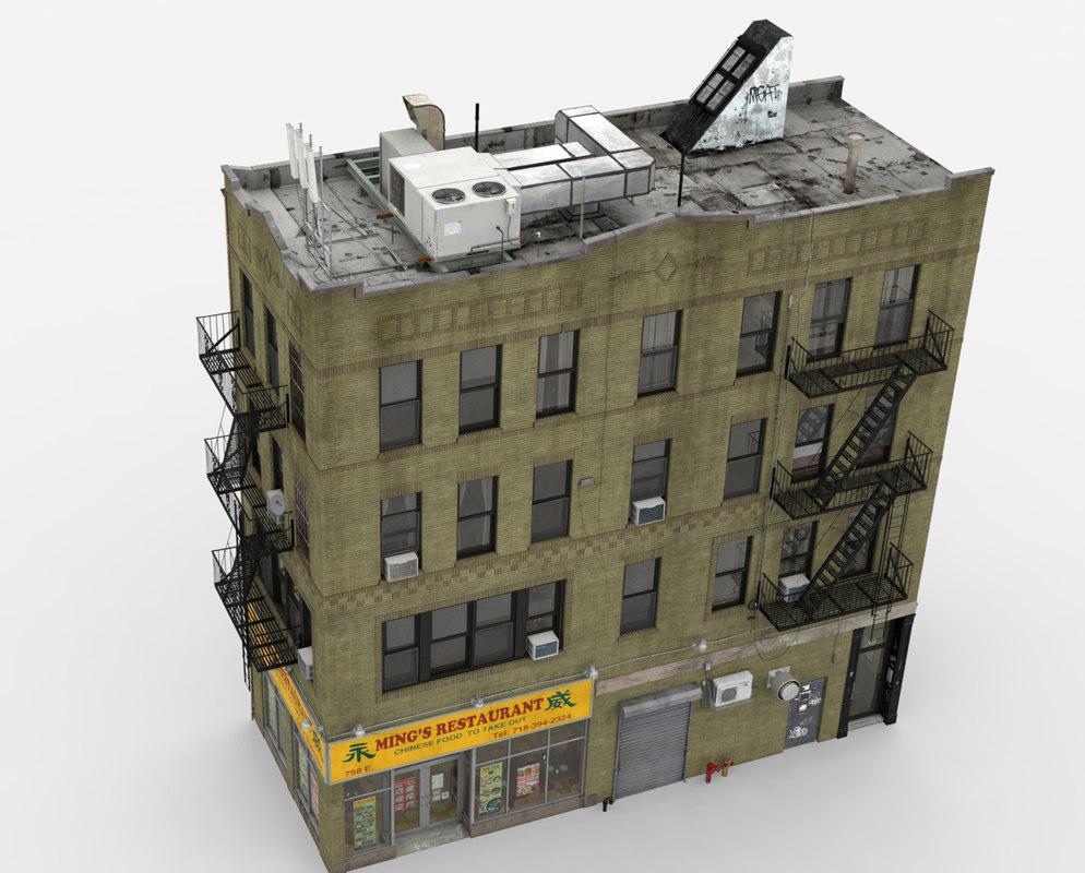 building architectural apartment 3d model