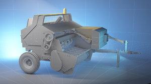 agritürk machine 3d model