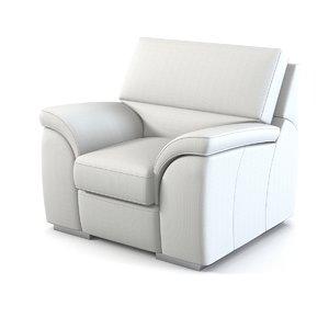 kler kalypso chair 3d max