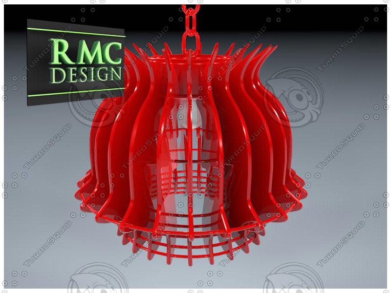 3d model chandelier 03 rmc