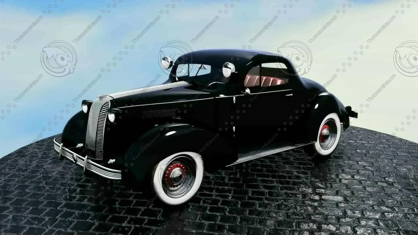 3d 1936 pontiac deluxe