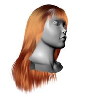 3d strand hair