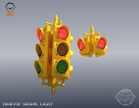 s traffic signal light animation