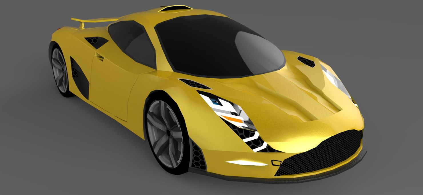3d ldr erebos model