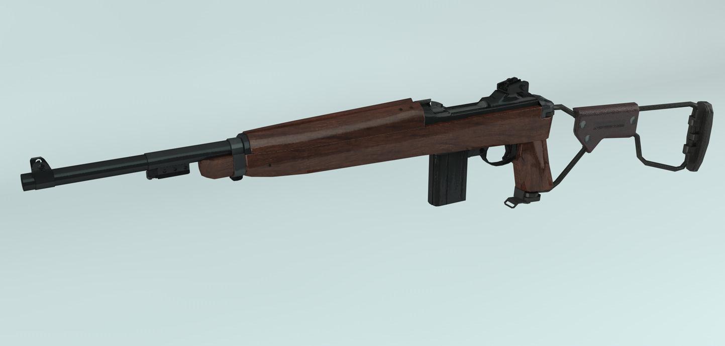 m1 carbine airborne max