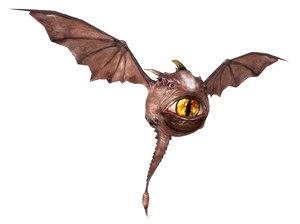 watcher creature eye 3d model