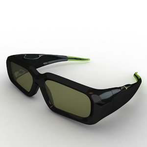 3d model nvidia vision glasses