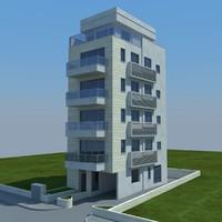 3d model buildings 1