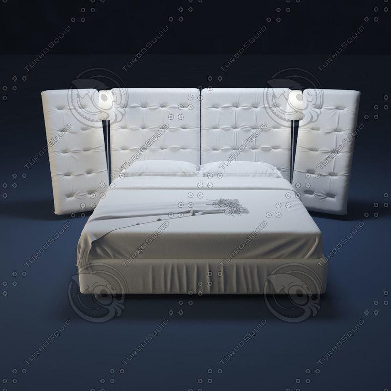 x flou bed anglea