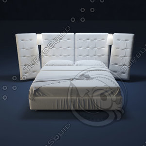 x flou bed anglea