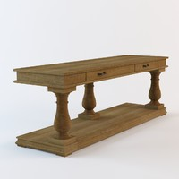 Salvage Baluster Console