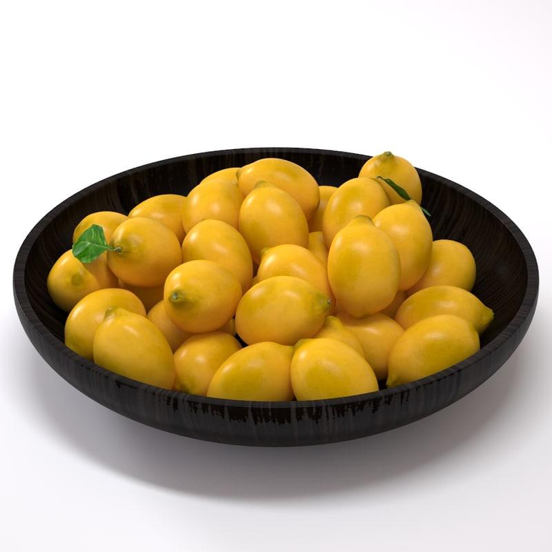 3ds max lemons