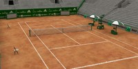 3d tennis arena model