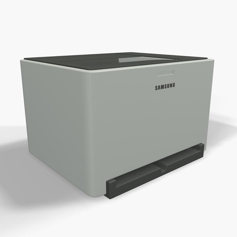 3d model samsung printer