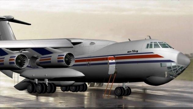 max il-76 military transport