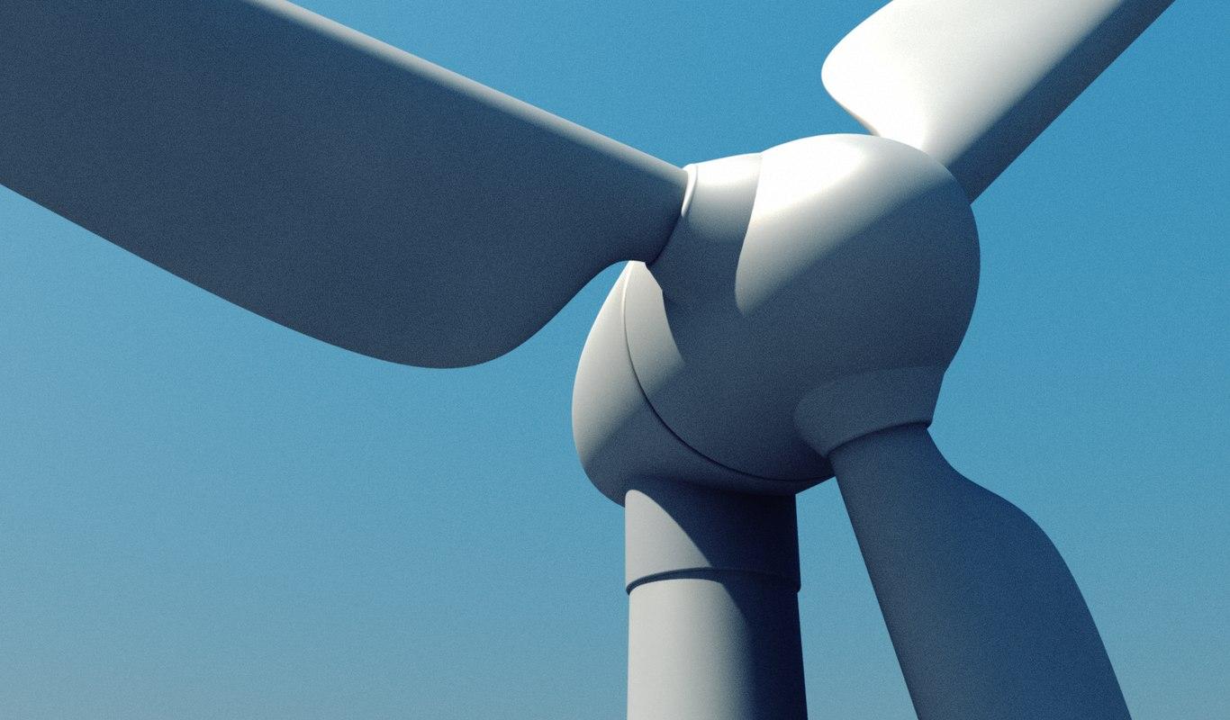 windmill wind 3d 3ds