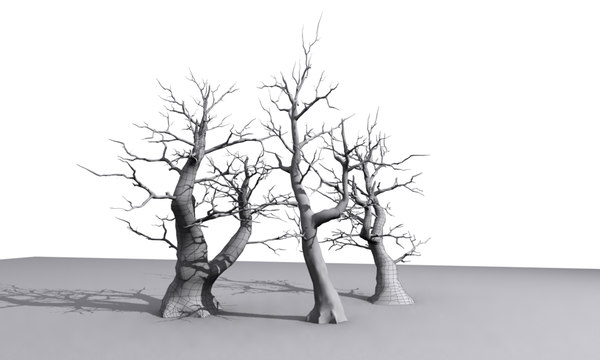 max trees modelled