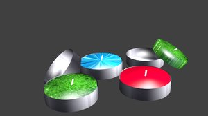 tea candle 3ds free