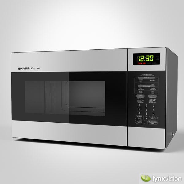 Model Sharp Microwave Oven