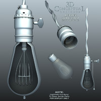 Electrical_Vintage_Hanging-Lightbulb-n-Socket1