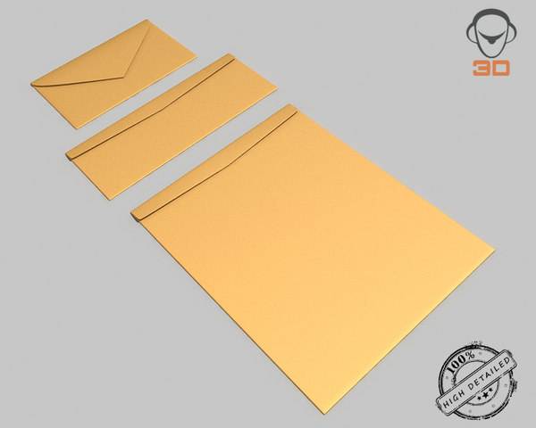 envelopes modeled open fbx