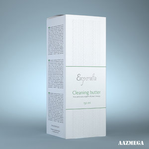 3d model of cleaning box experalta