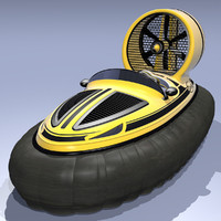 3ds max hovercraft watercraft