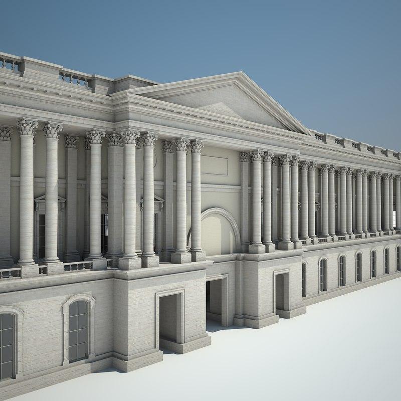 3dsmax palace courtyard