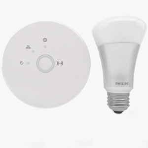 3d philips hue