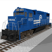 c4d train engine
