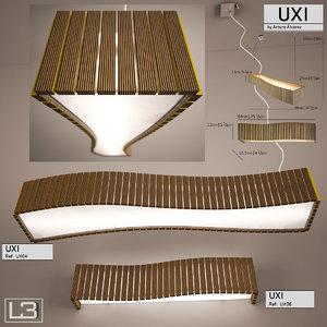 lamps uxi arturo alvarez 3d model